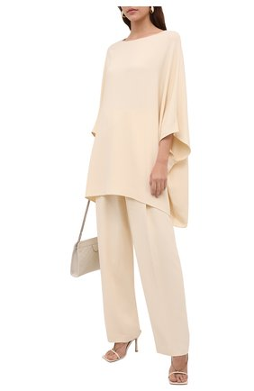 Женские брюки THE ROW кремвого цвета, арт. 5631W730 | Фото 2