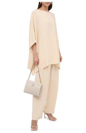 Женская блузка THE ROW кремвого цвета, арт. 5642W730 | Фото 2