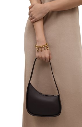 Женская сумка half moon THE ROW темно-коричневого цвета, арт. W1249L52 | Фото 2