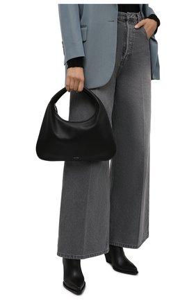 Женская сумка everyday small THE ROW черного цвета, арт. W1279L97 | Фото 2