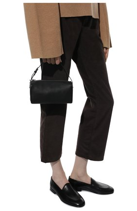 Женская сумка baguette small THE ROW черного цвета, арт. W1281L97 | Фото 2