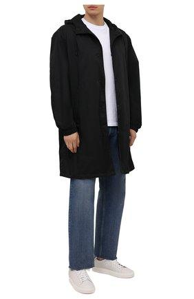 Мужские кожаные кеды BRUNELLO CUCINELLI белого цвета, арт. MZUBLBJ264 | Фото 2