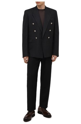 Мужские кожаные дерби BARRETT коричневого цвета, арт. 192U003.45/BETIS CREAM | Фото 2 (Материал внутренний: Натуральная кожа; Стили: Классический)