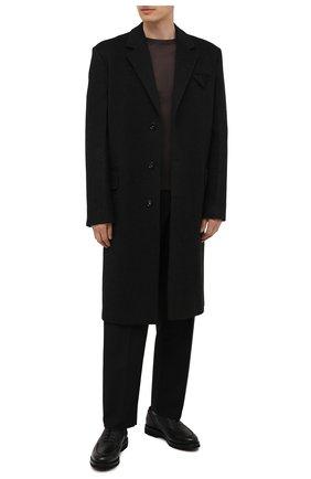 Мужские кожаные оксфорды BARRETT черного цвета, арт. 202U029.26/RAM0N | Фото 2 (Стили: Классический)