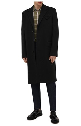 Мужские кожаные дерби BARRETT черного цвета, арт. BASTIA-006.13/P0LISHED B | Фото 2