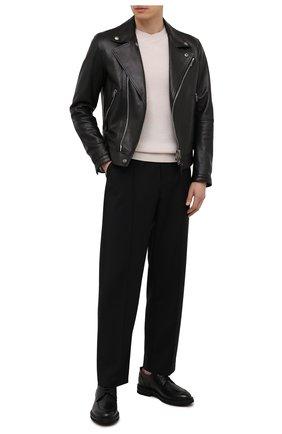 Мужские кожаные дерби H`D`S`N BARACCO черного цвета, арт. 81215.V.0* | Фото 2