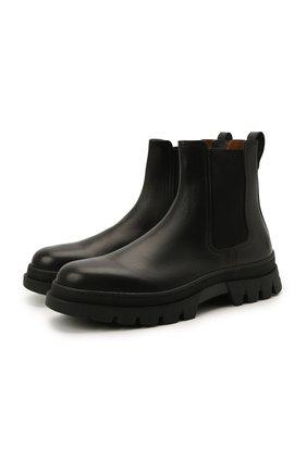 Мужские кожаные челси H`D`S`N BARACCO черного цвета, арт. 81532.VVN.0* | Фото 1