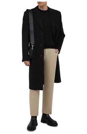 Мужские кожаные челси H`D`S`N BARACCO черного цвета, арт. 81532.VVN.0* | Фото 2