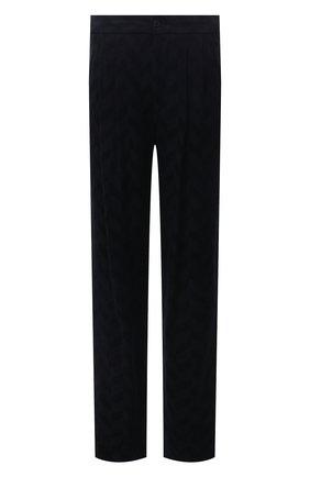 Мужские брюки GIORGIO ARMANI темно-синего цвета, арт. 1WGPP0K7/T02VC   Фото 1