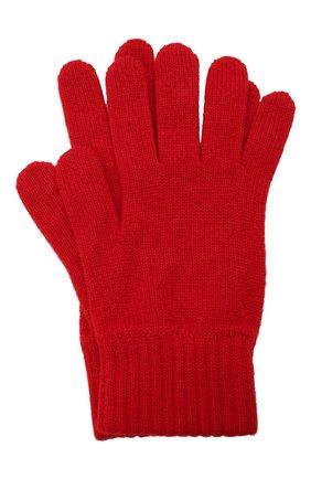 Мужские кашемировые перчатки JOHNSTONS OF ELGIN красного цвета, арт. HAY01001 | Фото 1 (Материал: Кашемир, Шерсть; Кросс-КТ: Трикотаж)