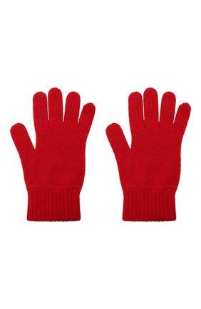Мужские кашемировые перчатки JOHNSTONS OF ELGIN красного цвета, арт. HAY01001 | Фото 2 (Материал: Кашемир, Шерсть; Кросс-КТ: Трикотаж)