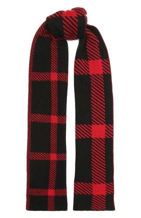 Мужской кашемировый шарф JOHNSTONS OF ELGIN красного цвета, арт. HAY02940 | Фото 1 (Материал: Шерсть, Кашемир; Кросс-КТ: кашемир)