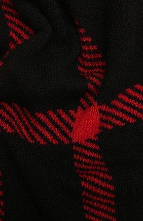 Мужской кашемировый шарф JOHNSTONS OF ELGIN красного цвета, арт. HAY02940 | Фото 2 (Материал: Шерсть, Кашемир; Кросс-КТ: кашемир)