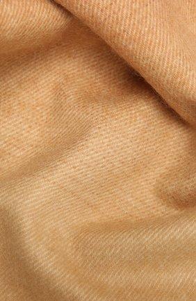 Мужской кашемировый шарф JOHNSTONS OF ELGIN разноцветного цвета, арт. WA000057 | Фото 2 (Материал: Шерсть, Кашемир)