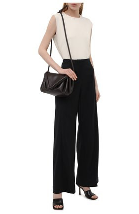 Женские шерстяные брюки RUBAN черного цвета, арт. RCSS21-7.1.42.2   Фото 2