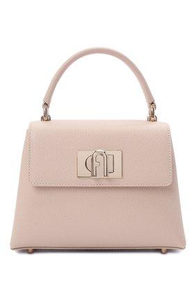 Женская сумка furla 1927 mini FURLA светло-розового цвета, арт. WB00109/ARE000   Фото 1