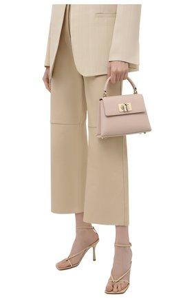 Женская сумка furla 1927 mini FURLA светло-розового цвета, арт. WB00109/ARE000   Фото 2