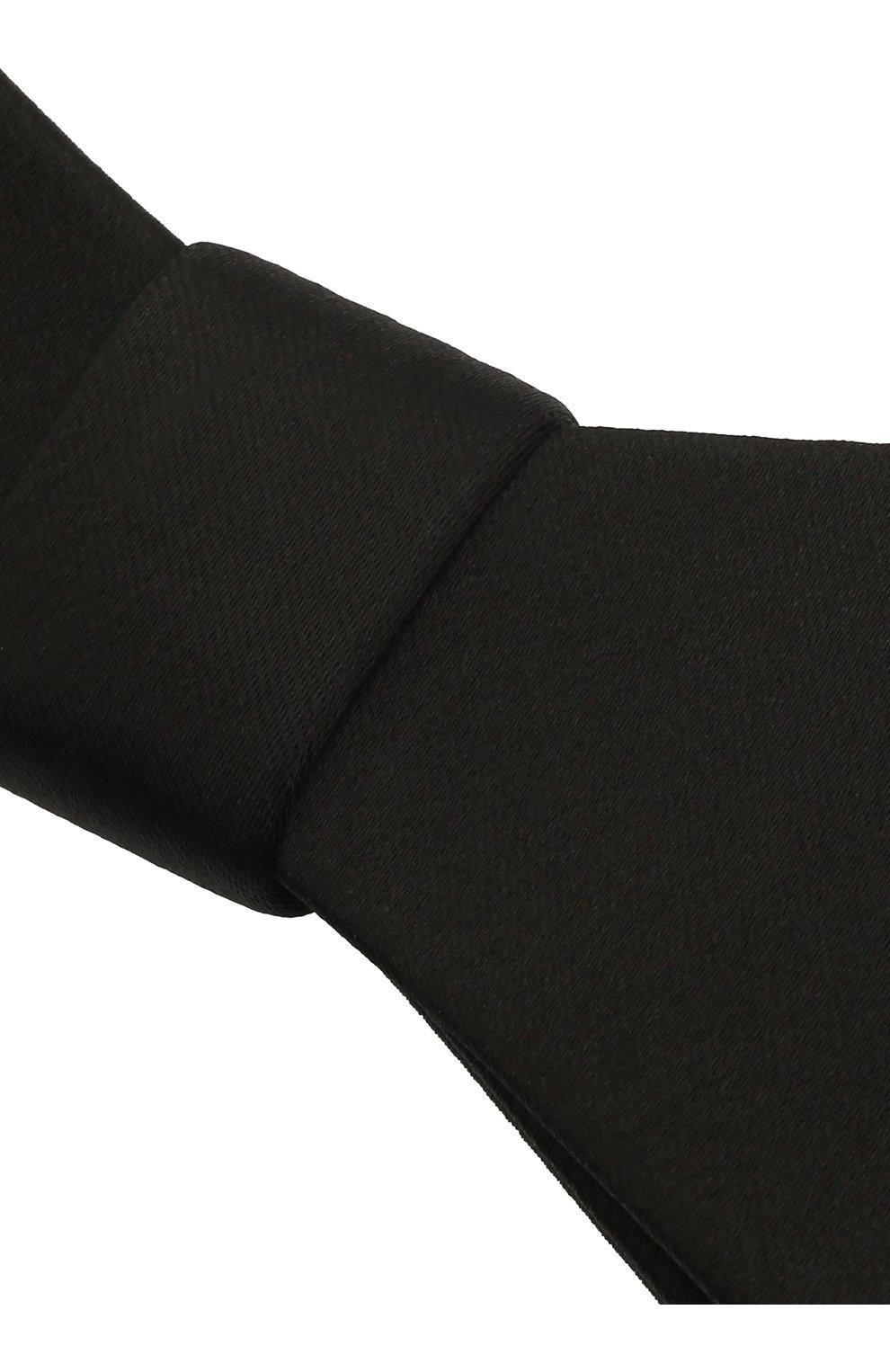 Женская бант PANFIL черного цвета, арт. Бант 0-T3 | Фото 3 (Материал: Текстиль, Шелк)