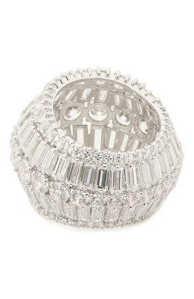 Женское кольцо hyperbola SWAROVSKI серебряного цвета, арт. 5598341 | Фото 2