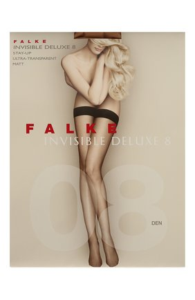 Женские капроновые чулки FALKE бежевого цвета, арт. 44323 | Фото 1