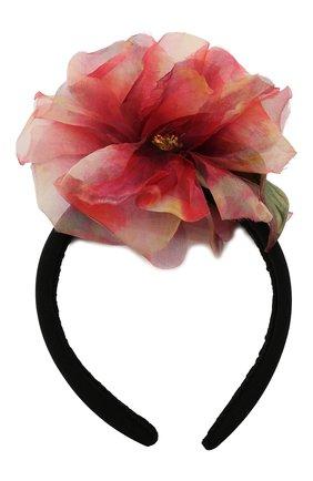 Женский ободок для волос DOLCE & GABBANA розового цвета, арт. FY347Z/GER76   Фото 1