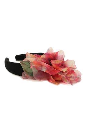Женский ободок для волос DOLCE & GABBANA розового цвета, арт. FY347Z/GER76   Фото 2