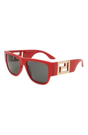Женские солнцезащитные очки VERSACE красного цвета, арт. 4403-534487 | Фото 1