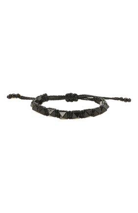 Женский браслет VALENTINO черного цвета, арт. WW2J0I02/CIA | Фото 1