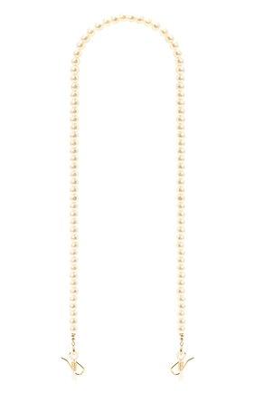 Женские цепочка для очков LELE SADOUGHI кремвого цвета, арт. LSEG002PE | Фото 1