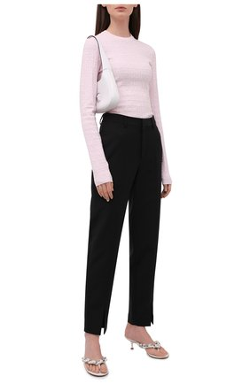 Женский пуловер из вискозы GIVENCHY светло-розового цвета, арт. BW90D94ZA4   Фото 2