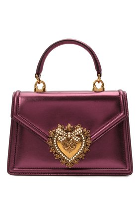 Женская сумка devotion small DOLCE & GABBANA фиолетового цвета, арт. BB6711/A1016 | Фото 1