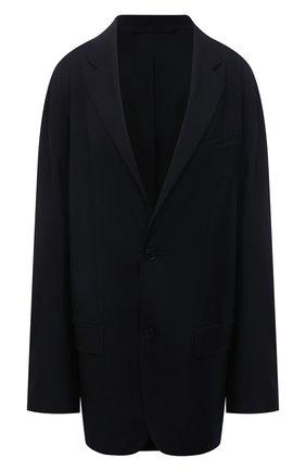 Женский жакет BALENCIAGA черного цвета, арт. 663055/TK029 | Фото 1