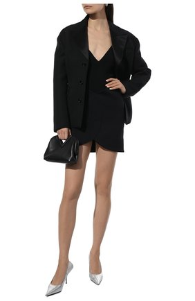 Женская юбка BALENCIAGA черного цвета, арт. 662987/TTK23 | Фото 2