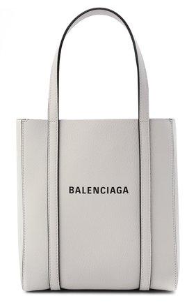 Женский сумка-тоут everyday xxs BALENCIAGA белого цвета, арт. 551815/D6W2N | Фото 1