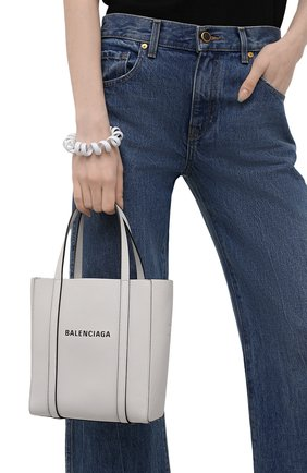 Женский сумка-тоут everyday xxs BALENCIAGA белого цвета, арт. 551815/D6W2N | Фото 2