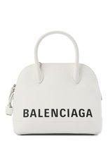 Женская сумка ville s BALENCIAGA белого цвета, арт. 550645/1IZ13   Фото 1