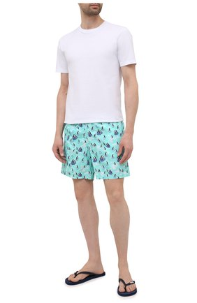 Мужские плавки-шорты VILEBREQUIN голубого цвета, арт. MOOH1B95/333 | Фото 2
