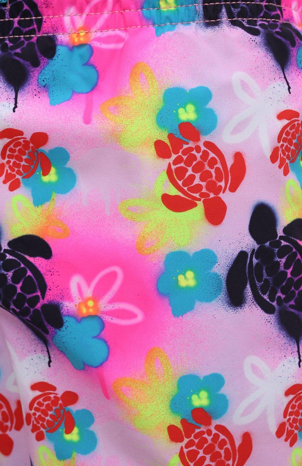 Мужские плавки-шорты VILEBREQUIN розового цвета, арт. MOOU1B88/175   Фото 5 (Материал внешний: Синтетический материал)