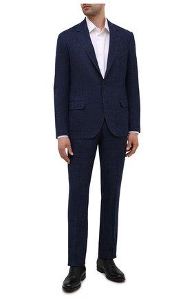 Мужские кожаные оксфорды BARRETT черного цвета, арт. 202U034.10/RIX0N | Фото 2