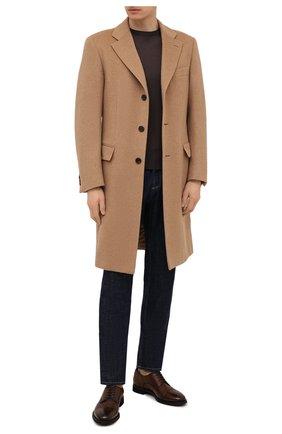 Мужские кожаные дерби BARRETT коричневого цвета, арт. 211U055.9/CERV0 ASP0RTABILE | Фото 2