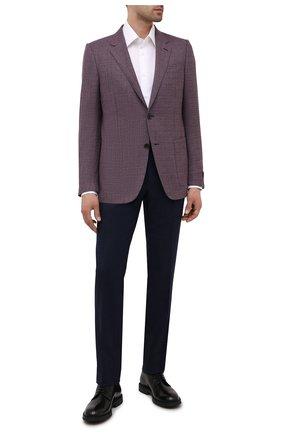Мужские кожаные дерби H`D`S`N BARACCO черного цвета, арт. 80200.10* | Фото 2