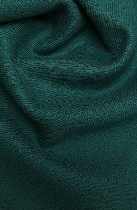 Мужской шерстяной шарф JOHNSTONS OF ELGIN зеленого цвета, арт. WD000446 | Фото 2 (Материал: Шерсть; Кросс-КТ: шерсть)
