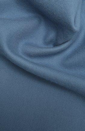 Мужской шерстяной шарф JOHNSTONS OF ELGIN голубого цвета, арт. WD000446 | Фото 2 (Материал: Шерсть; Кросс-КТ: шерсть)
