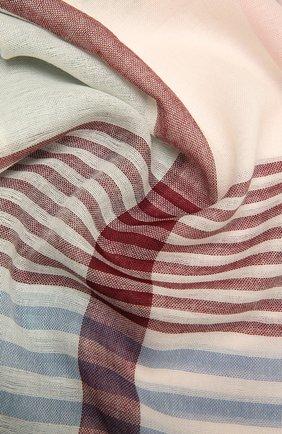 Мужской шерстяной шарф JOHNSTONS OF ELGIN разноцветного цвета, арт. WD001093 | Фото 2 (Материал: Шерсть)