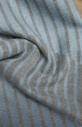 Мужской шерстяной шарф JOHNSTONS OF ELGIN разноцветного цвета, арт. WD001669 | Фото 2 (Материал: Шерсть)
