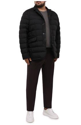 Мужские шерстяные брюки CANALI темно-коричневого цвета, арт. 71019/AA02161/60-64   Фото 2