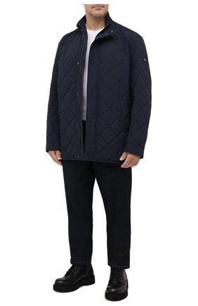 Мужская утепленная куртка PAUL&SHARK темно-синего цвета, арт. 11312004/DF/3XL-6XL | Фото 2