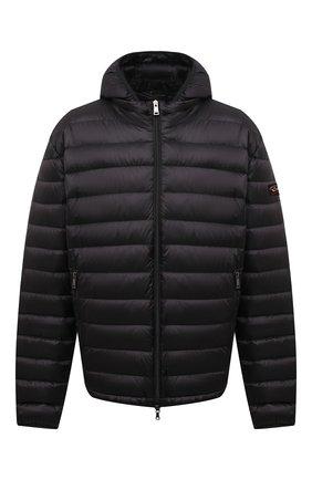 Мужская пуховая куртка PAUL&SHARK черного цвета, арт. C0P2008/GTX/3XL-6XL | Фото 1