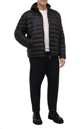 Мужская пуховая куртка PAUL&SHARK черного цвета, арт. C0P2008/GTX/3XL-6XL | Фото 2