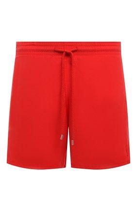 Мужские плавки-шорты VILEBREQUIN красного цвета, арт. MOOH1D99/201 | Фото 1